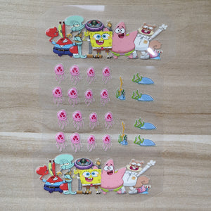 Spongebob patches for shoes