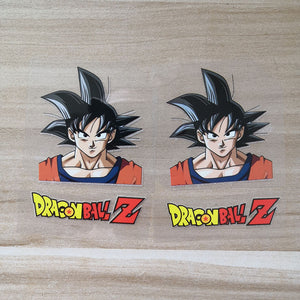 dragon ball z iron on stickers for shoes