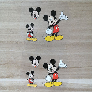 Mickey Mouse Iron on Patches for DIY/Custom Air Force 1 Mickey Mouse Heat Transfer Stickers For Shoes Decal