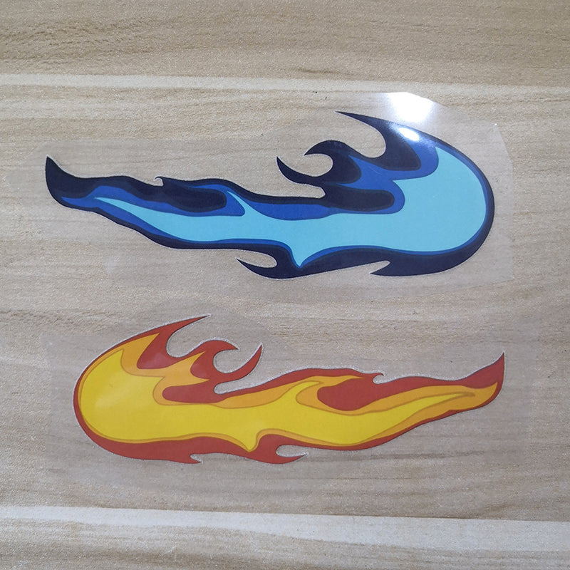 iron on flame patches for Nike swoosh