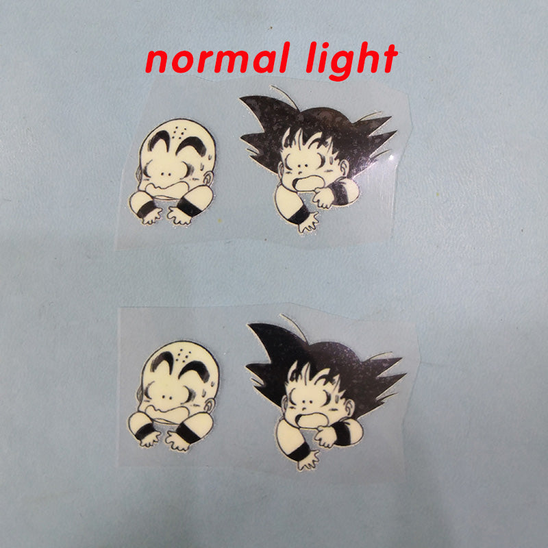 iron on dragon ball stickers for shoes