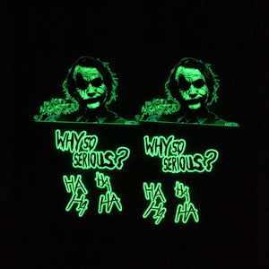 glow in dark joker stickers