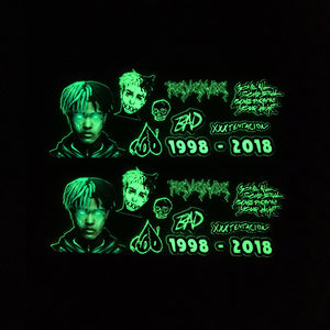 XXX Tentacion glow in dark stickers