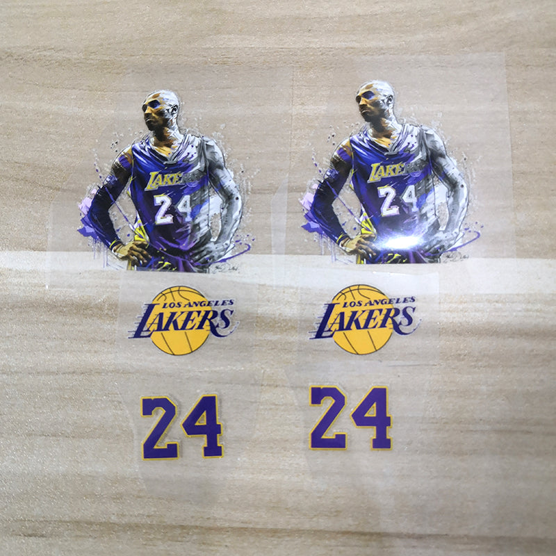 Kobe Bryant Iron On Stickers For Custom Air Force 1, Perfect Stickers For Custom Sneakers/Vans/AF1 Kobe Theme, Best Gift For Him