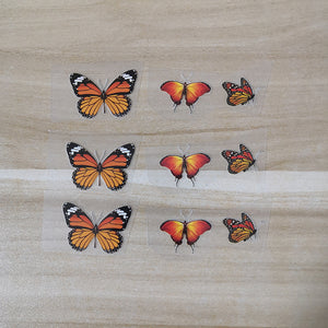 3 Design Mix Monarch Butterfly Patches For Custom Air Force 1 or Vans. Easy Iron On DIY Heat Transfer Monarch Butterfly Stickers, Best Monarch Butterfly Gift for her