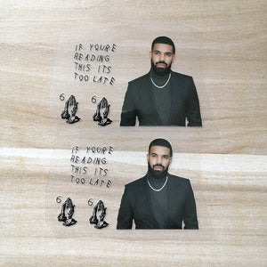 drake stickers for shoes