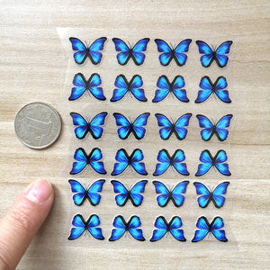 small butterfly stickers for kid shoes