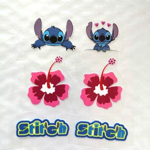 Small Stitch Iron On Stickers For DIY/Custom Shoes. Iron On Stitch Stickers For Kid Shoes