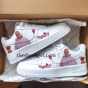 custom shoes Justin Bieber