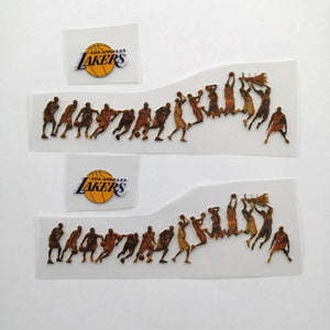 Kobe Bryant Iron On Patches For Custom Air Force 1, Perfect Stickers For Custom Sneakers/Vans/AF1 Kobe Theme, Best Gift For Him