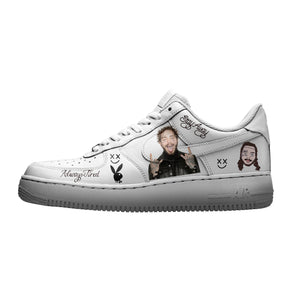Post Malone Iron On Patches For Custom Air Force 1, Perfect Stickers For Custom Sneakers/Vans/AF1 Post Malone Theme, Best Gift For Her