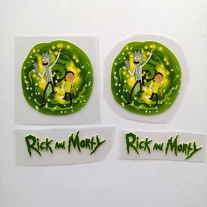 Rick and Morty Patches for Custom Air Force 1 Anime