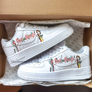 rick and morty air force 1