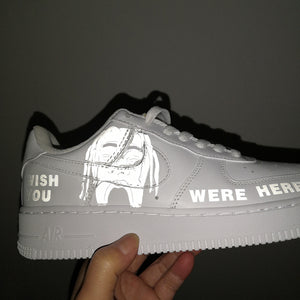 Travis Scott Astroworld 3M Reflective Patches for Custom Reflective Air Force 1