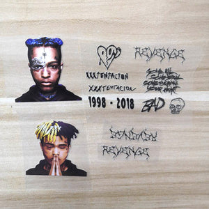 XXXTentacion patches for shoes