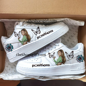 custom shoes Ariana Grande