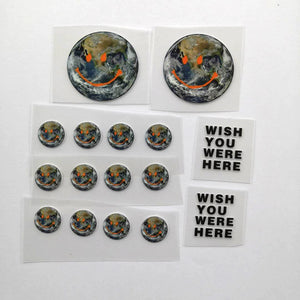 Astroworld Various Smile Earth Patches For Custom Air Force 1, Perfect Patches For Custom Sneakers/Vans/AF1 Travis Sccot Theme, Best Gift For Her