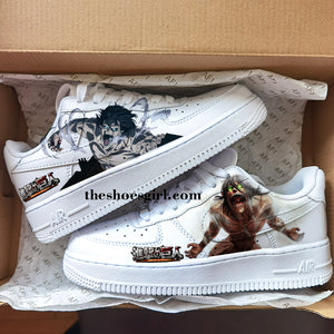 attack on titan shoes decal