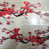 Red Blossom Patches for Custom Air Force 1 or Vans Blossom Floral Patches for Shoes Decal