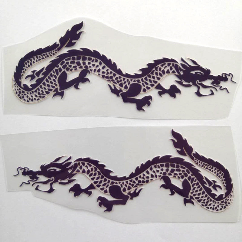 Purple Dragon And Flame Patches for DIY / Custom Air Force 1 Dragon Perfect Gift For Her