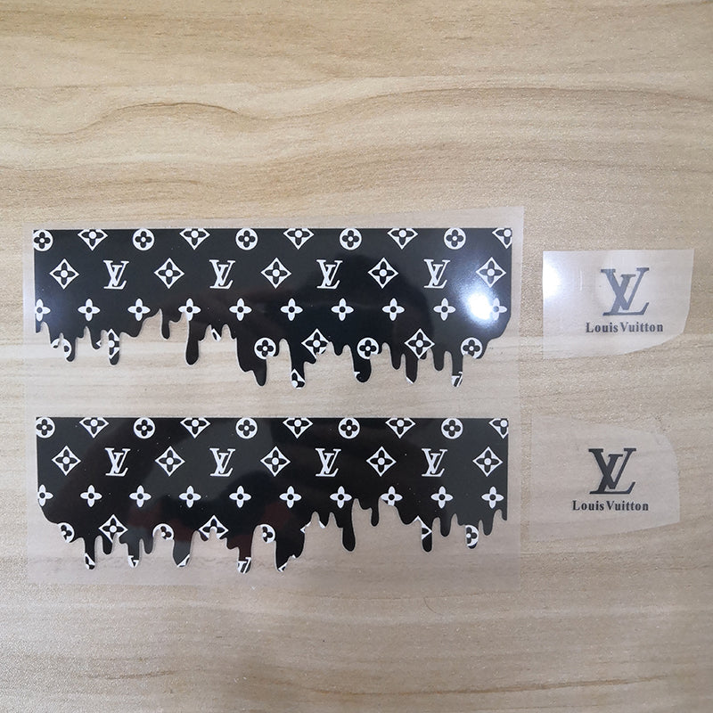 heat transfer drip lv sticker
