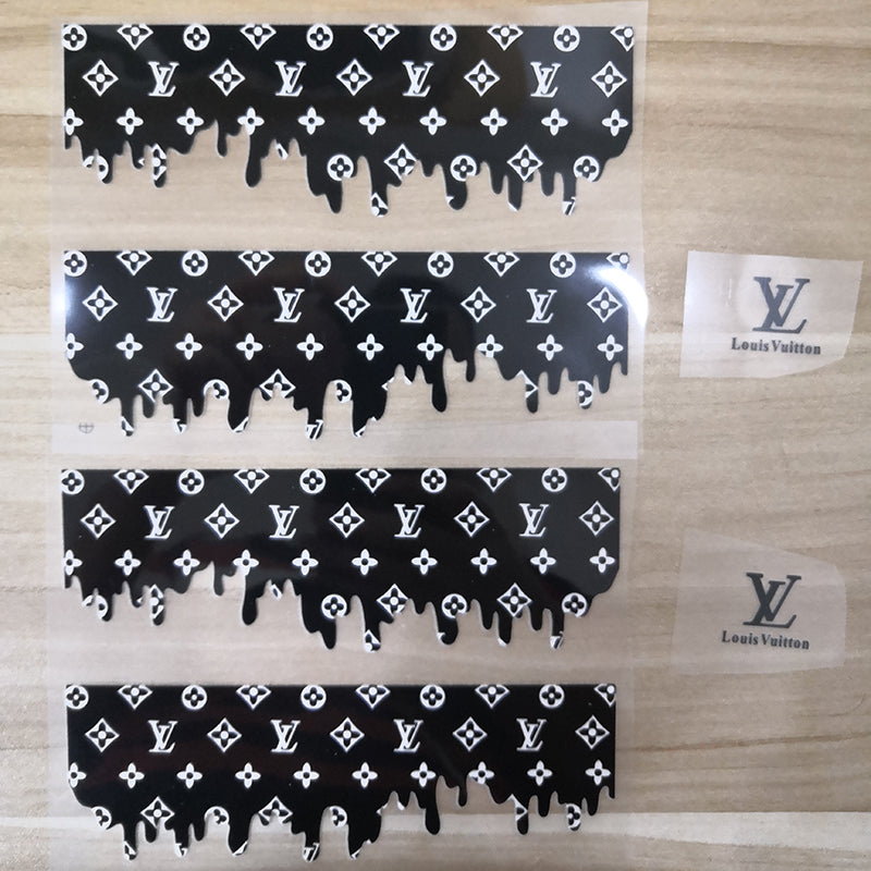 drip louis vuitton patches for custom shoes