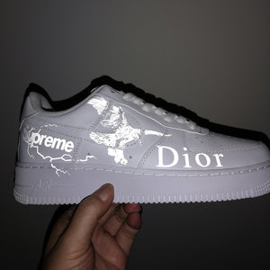 3M Eagle Reflective Patches for DIY/Custom Reflective Air Force 1