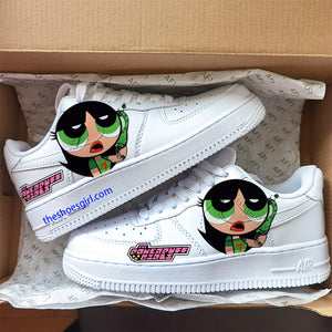 custom air force 1 the powerpuff girls