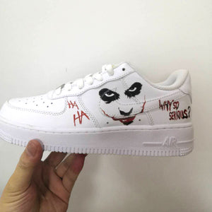 Joker Iron On Patches For Custom Air Force 1, Perfect Joker Patches For Shoes Decal Best Gift For Her