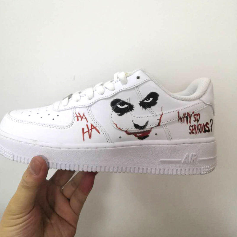 pop art air force 1 custom cartoon