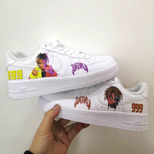 Juice Wrld Iron On Patches For Custom Air Force 1, Perfect Juice Wrld Heat Transfer Stickers For Shoes Decal