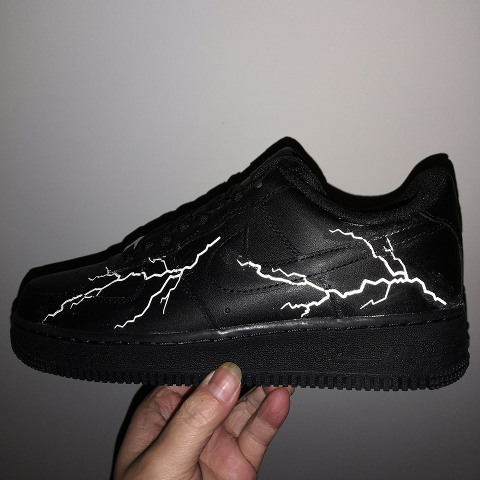 custom air force 1 lighting