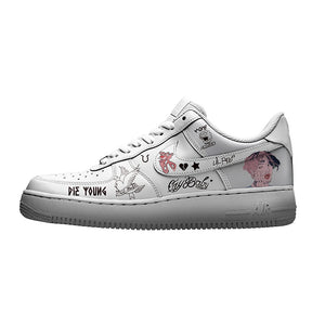 custom air force 1 lil peep