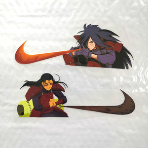 madara and hashirama stickers