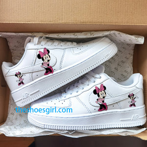 custom ari force 1 minnie mouse