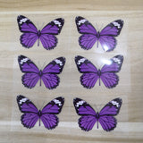 Purple Butterfly Patches For Custom Air Force 1 Butterfly