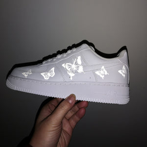 Butterfly Reflective Patches For Custom Air Force 1 Reflective Butterfly