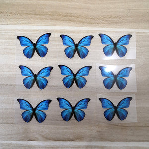 heat transfer butterfly stickers for shoes