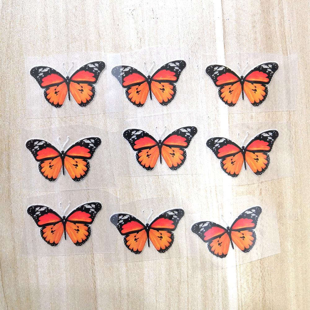 Small Monarch Butterfly Patches To Custom Air Force 1 Butterfly For Kids Shoes