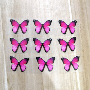 Small Pink Butterfly Patches To Custom Air Force 1 Butterfly For Kids Shoes