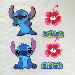 iron on stitch stickers