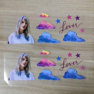 Tayler Swift iron on stickers