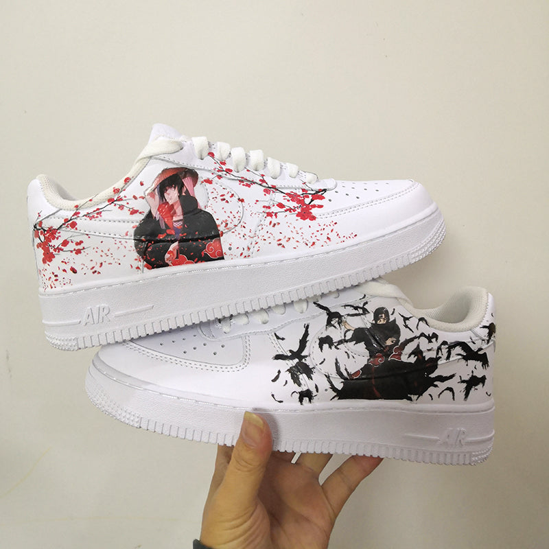 custom air force 1 uchiha itachi