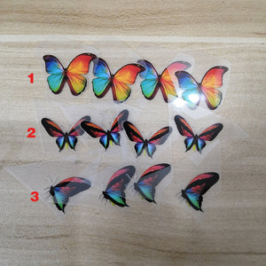 Various Iron On Colorful Butterfly Patches For DIY Colorful Butterfly AF1