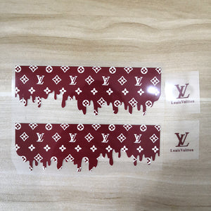 drip lv stickers for shoes