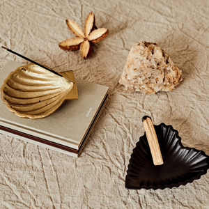 Venus Clam Dish and Incense Burner
