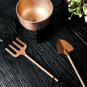 Rose Gold Garden Tools