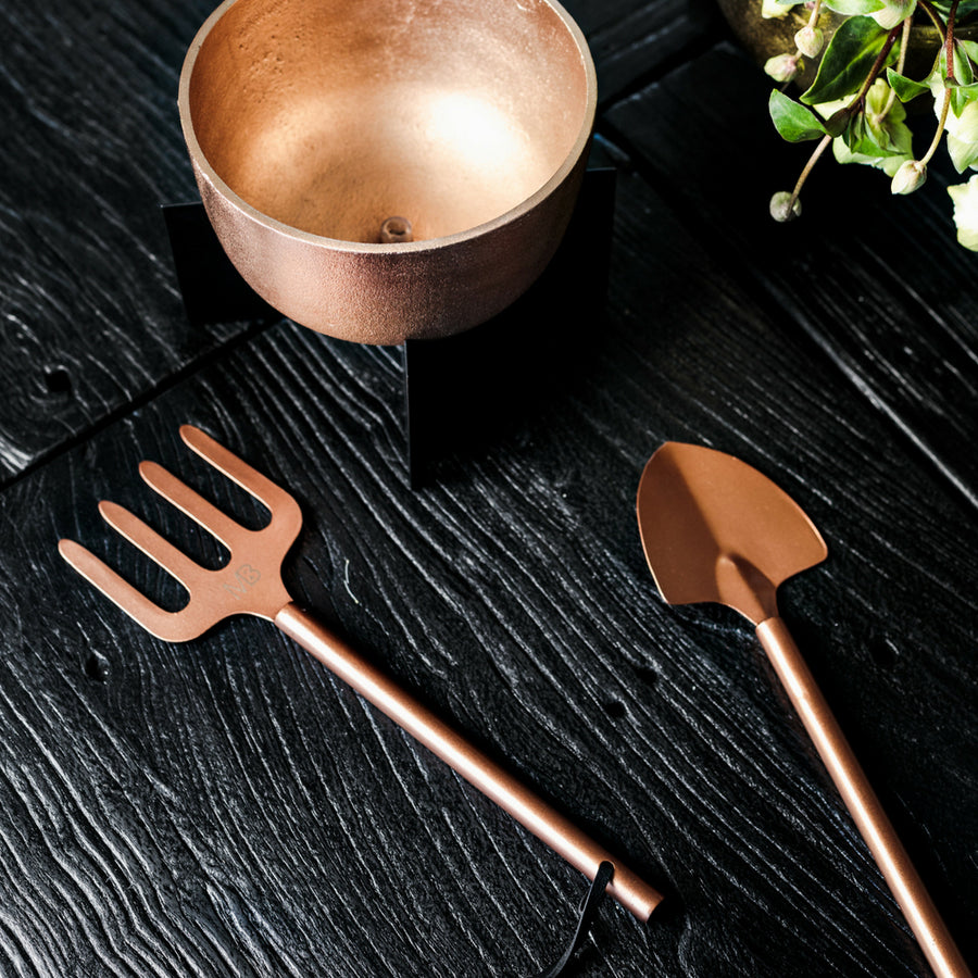 Rose Gold Garden Tools - NEARLY GONE!