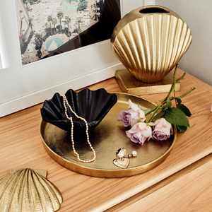 Gold Round Nesting Tray (Medium)
