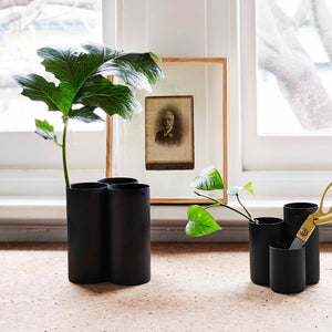 Midnight Trio Vase